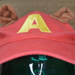"""Alvin and the Chipmunks Licensed """"A"""" Red Hat"""